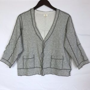 ANTHROPOLOGIE Tiny Framework Cardigan